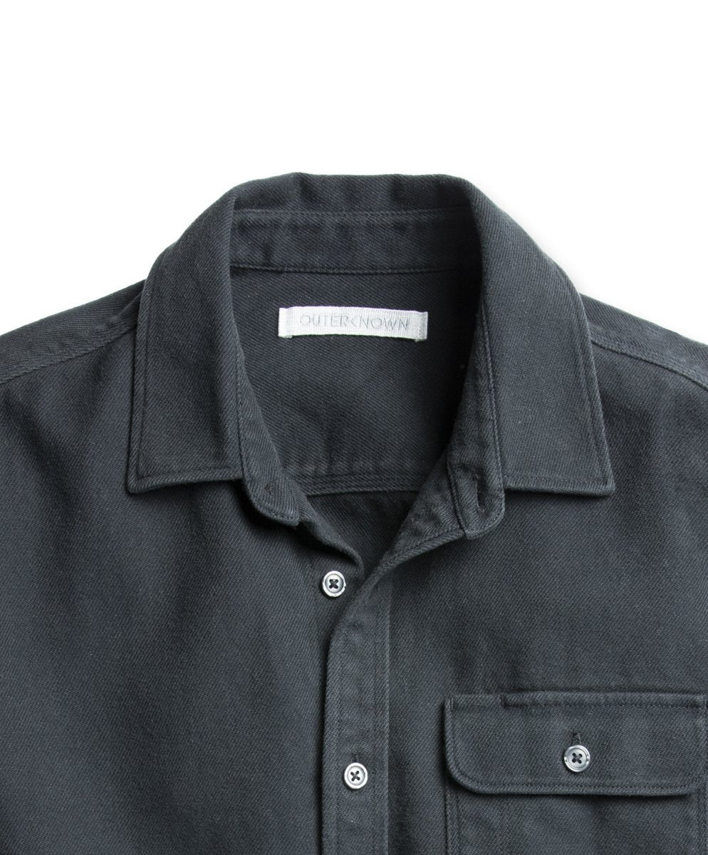 Outerknown- Rambler Shirt- True Black