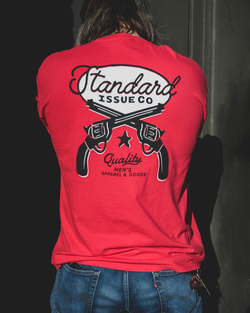 Standard Issue Co.- Revolver Long Sleeve- Red