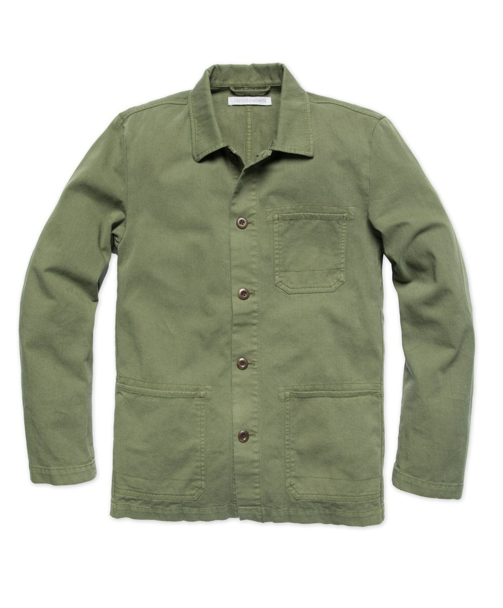 Outerknown- Tradesman Chore Jacket- Olive