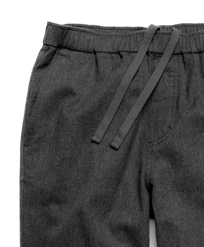Outerknown- Verano Beach Pant- Bright Black