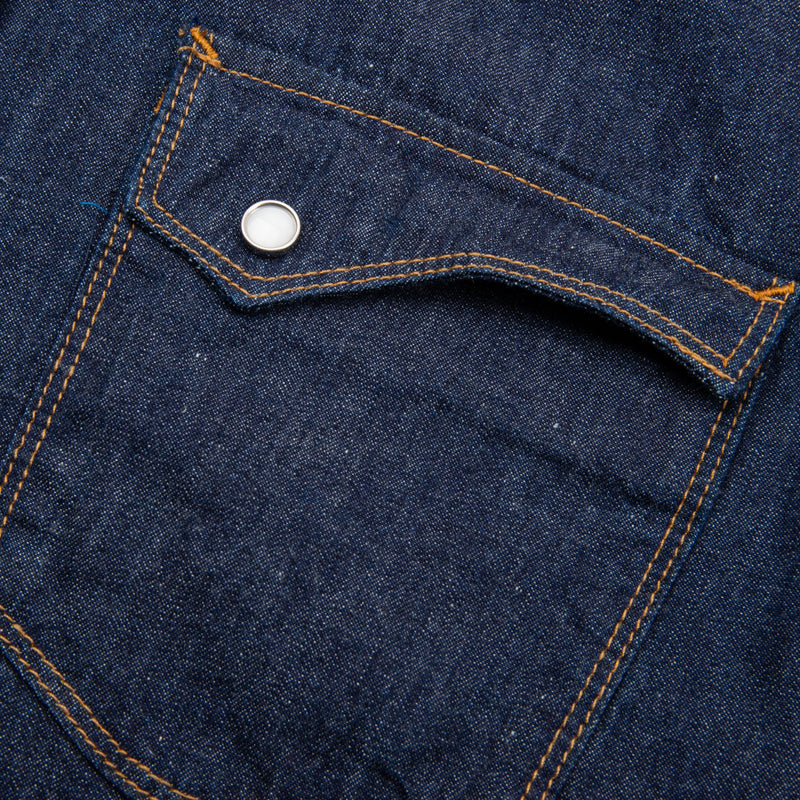 Freenote Cloth- Calico Shirt- Denim