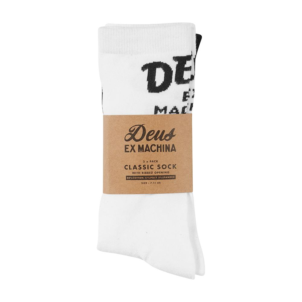 Deus Ex Machina- Curvy Sock 3 Pack