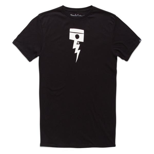 Deus Ex Machina- Pisstin Tee- Black
