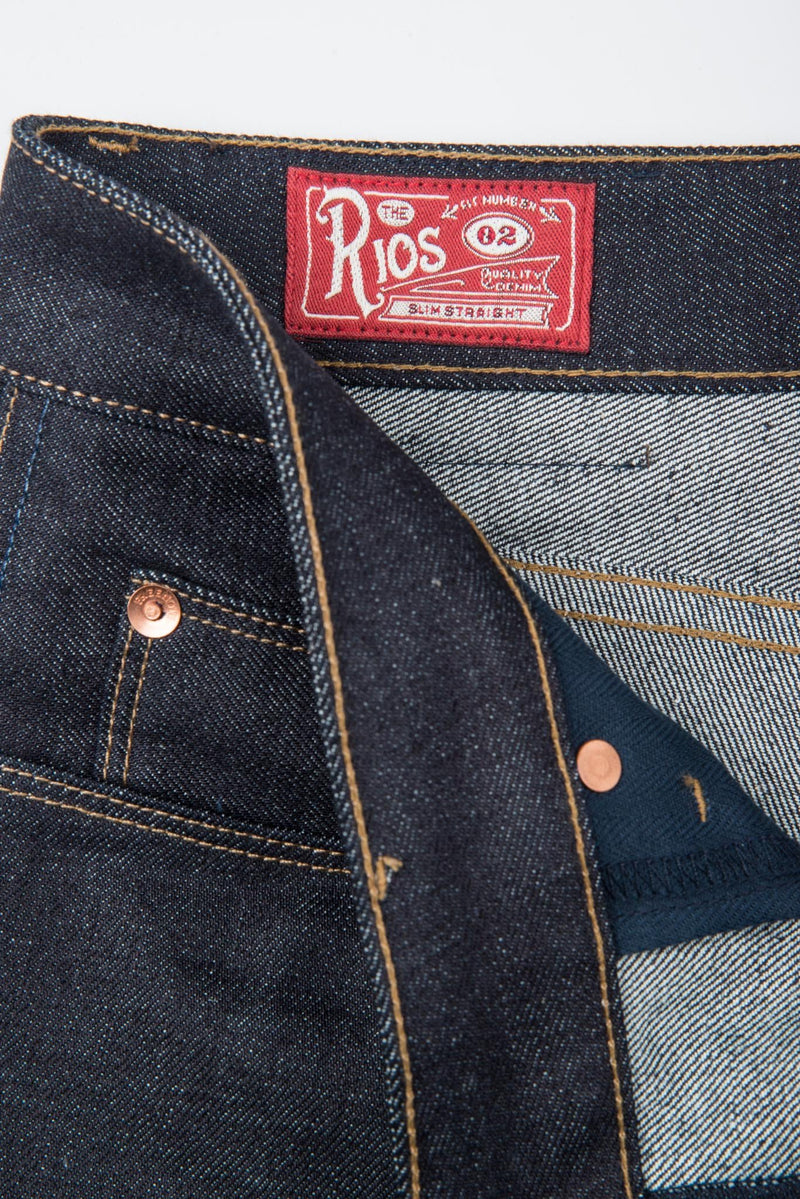 Freenote Cloth Rios 14.5 Ounce Kaihara Denim- Slim Straight