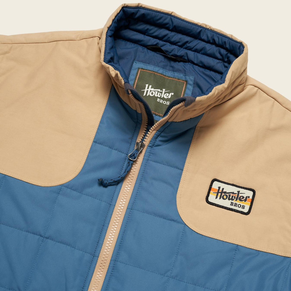 Howler Brothers- Merlin Jacket-Mid Blue
