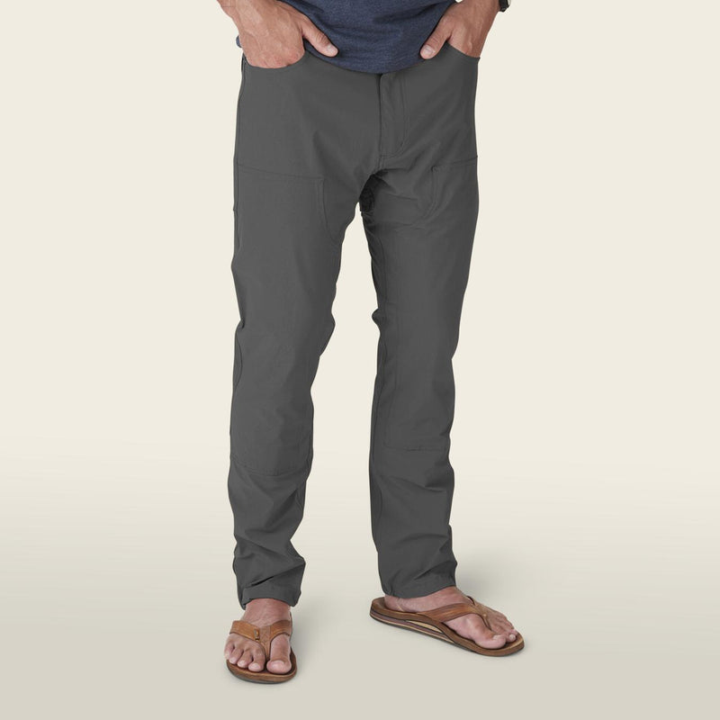 Howler Brothers Waterman's Work Pant- Anvil Grey