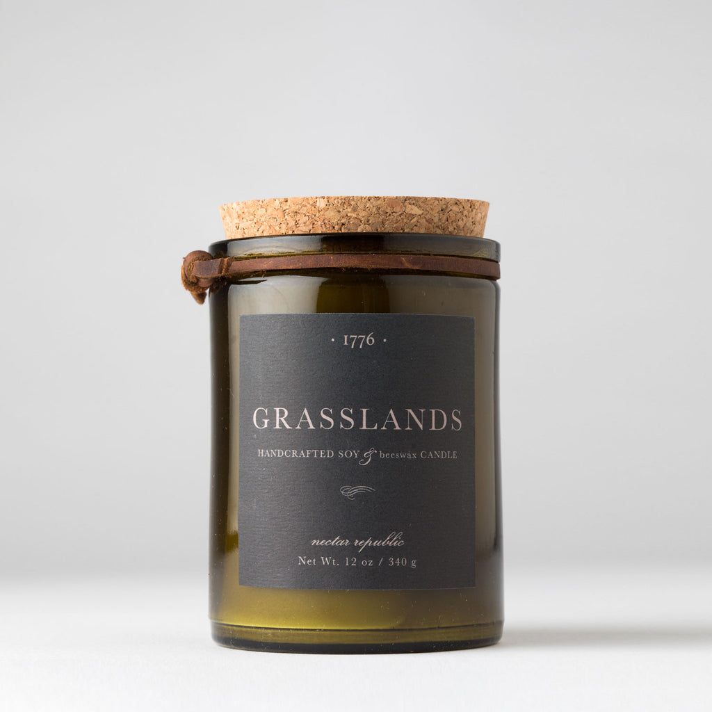 Nectar Republic- 1776 Candle- Grasslands