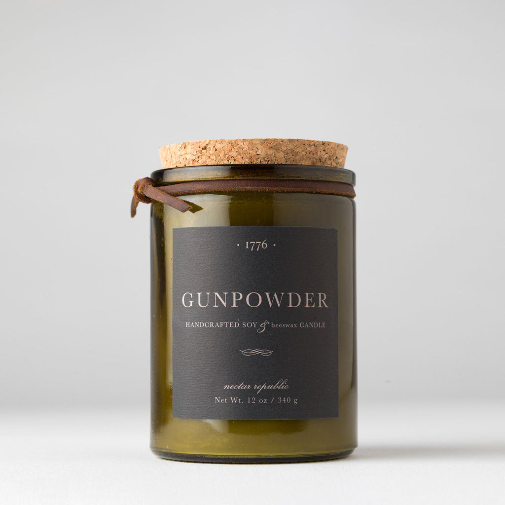 Nectar Republic- 1776 Candle- Gunpowder
