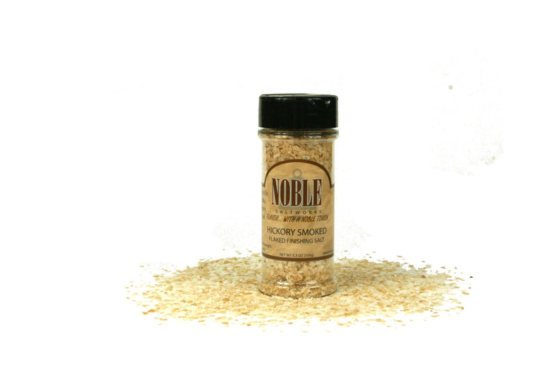 Noble Saltworks- Smoked Flaked Finishing Salt & Smoked Raw Sugar Gift Box