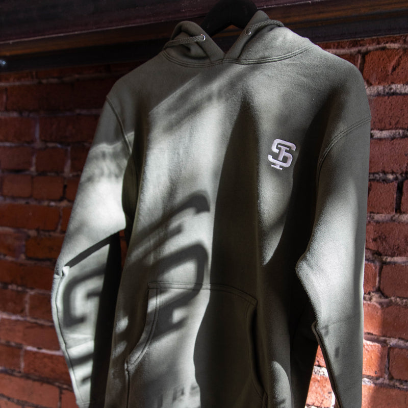 Standard Issue Co.- SI Hoodie- OD Green
