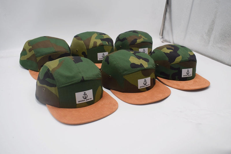 Anchor Axe Co.- Camo Hat
