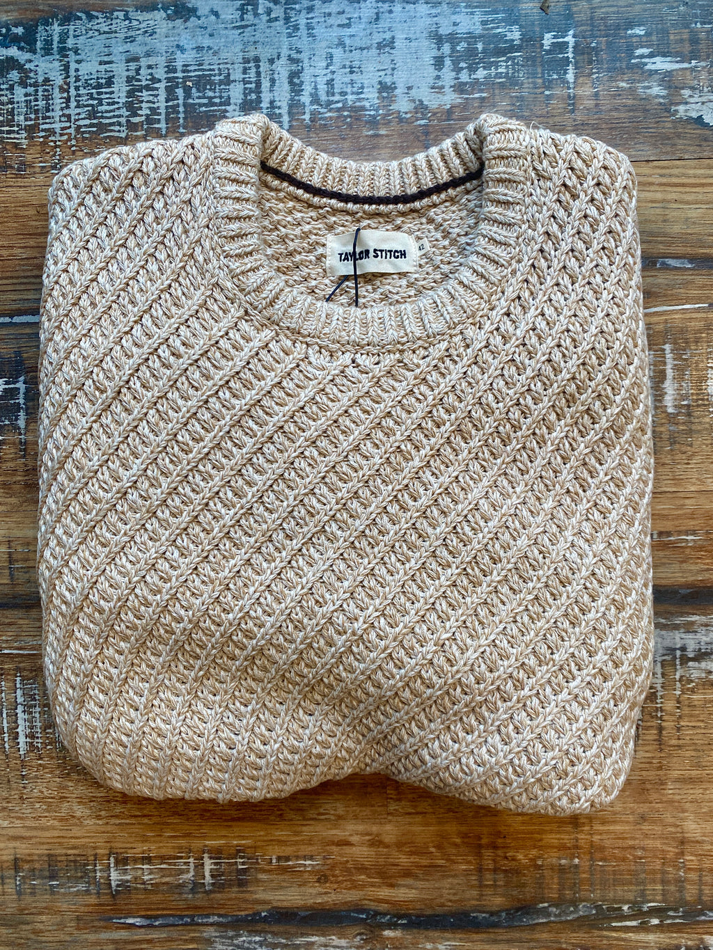 Taylor Stitch- The Adirondack Sweater in Natural