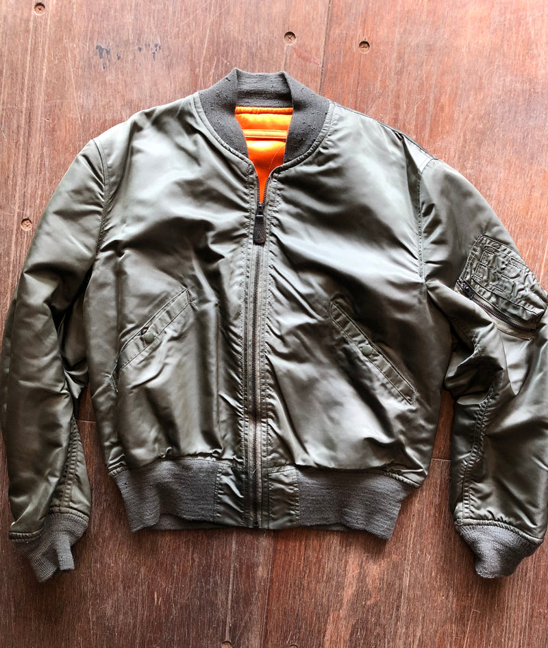 Camp Creek Vintage- 1968 Vietnam Era L-2B Flight Jacket
