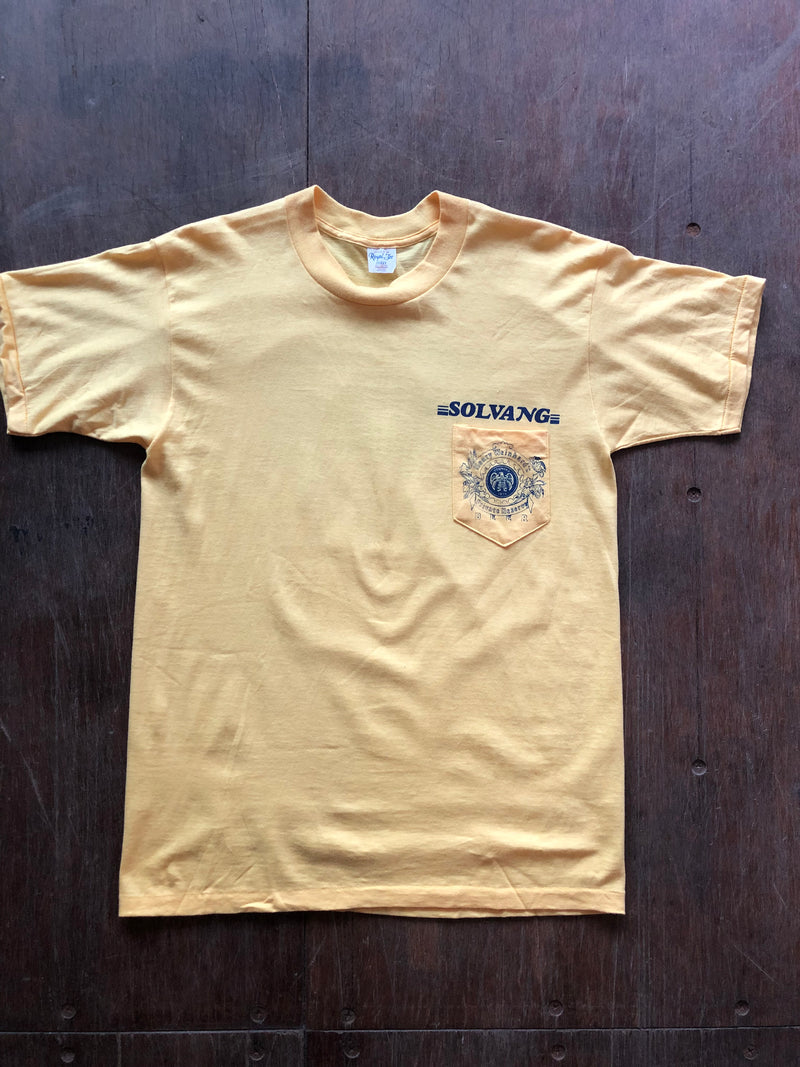 Camp Creek Vintage- 70's/80's Solvang Beer Pocket T-Shirt