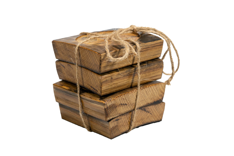 MilWorks Whiskey Barrel Coasters