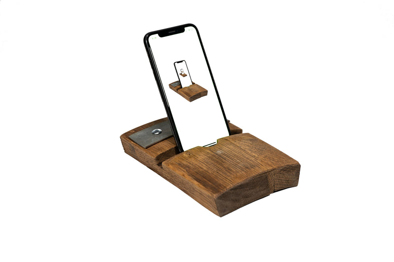 MilWorks Whiskey Barrel Device Stand