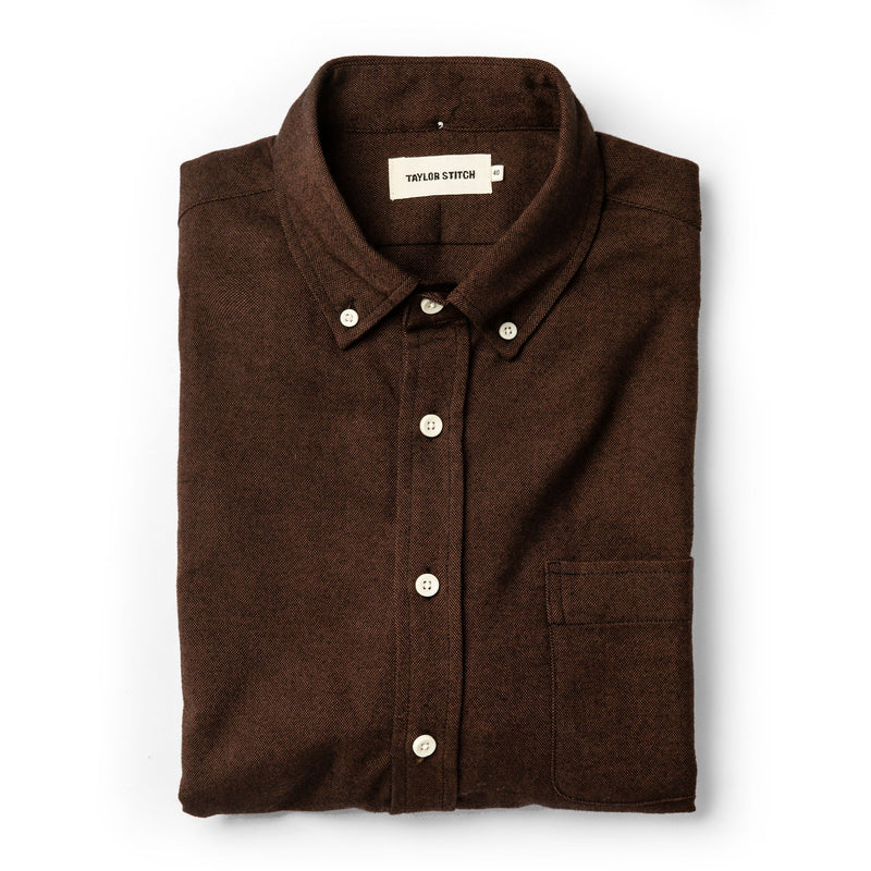 Taylor Stitch- Oxford Shirt- Rust
