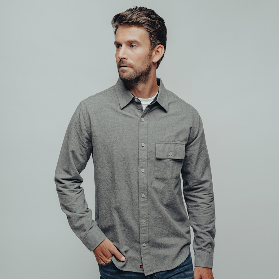 The Normal Brand- Chamois Button Up Shirt