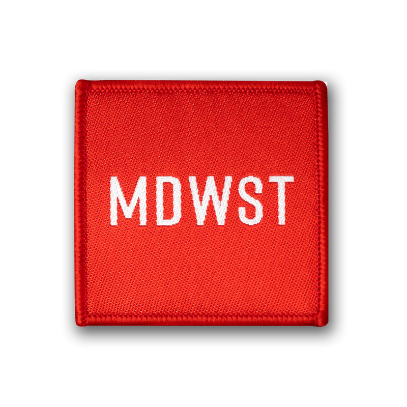 MDWST Woven Patch
