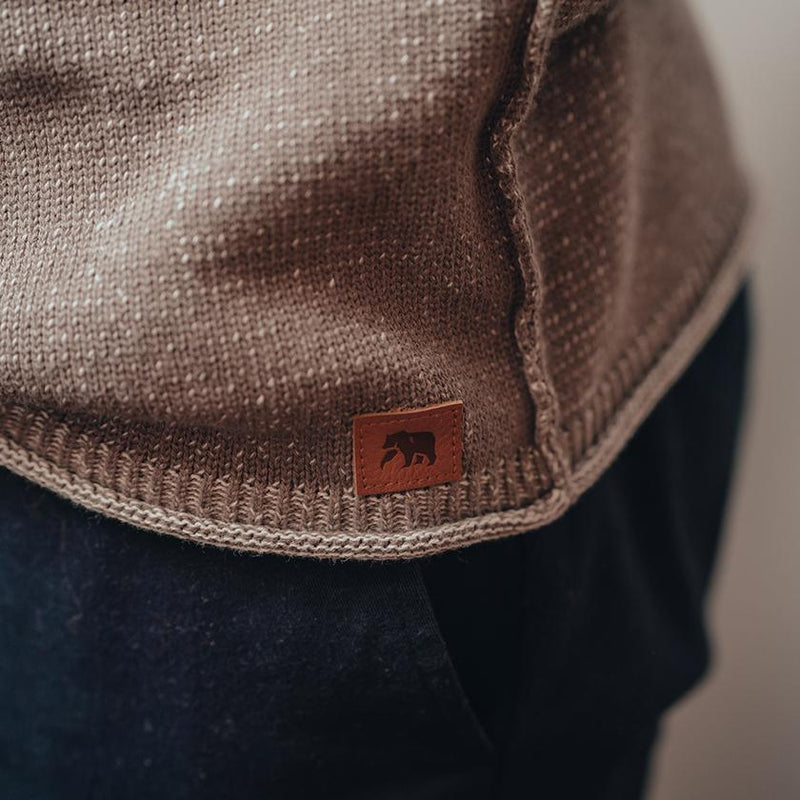 The Normal Brand- Jimmy Sweater Crew Khaki