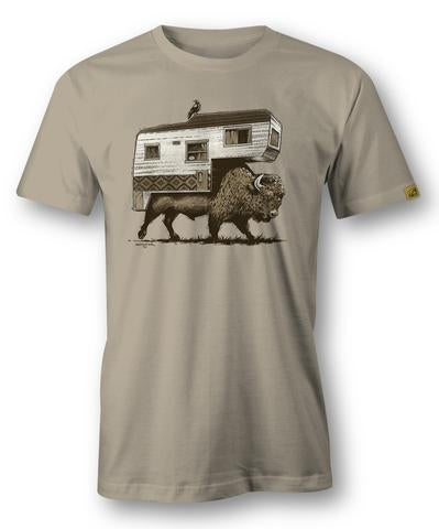 Trail Threads- Roam On The Range Heather Cream
