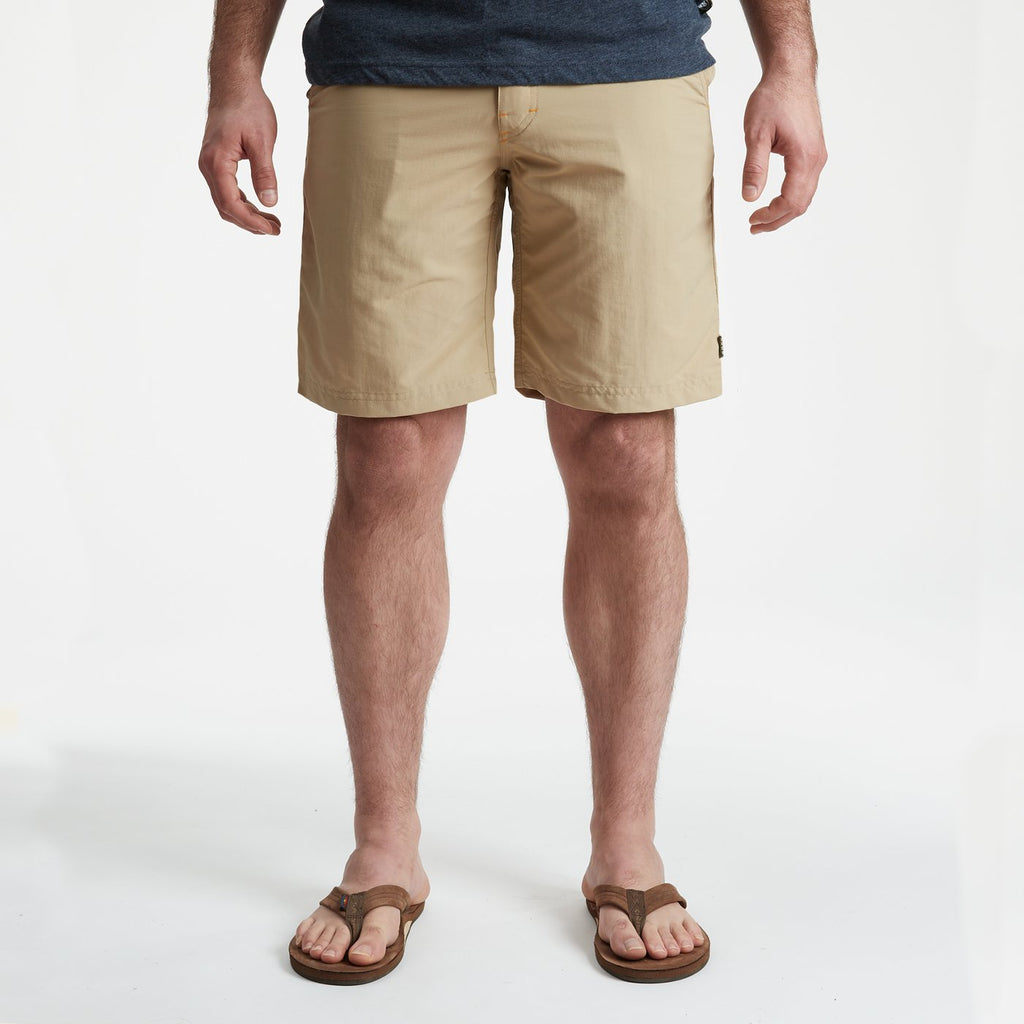 Howler Brothers Horizon Hybrid Short 2.0- Tortilla Tan