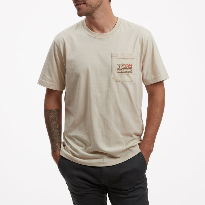 Howler Brothers Select Pocket T- Howler Original Sand