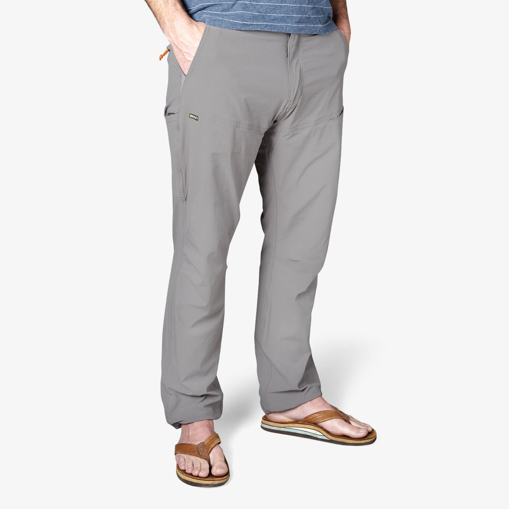 Howler Brothers Shoalwater Tech Pant- Light Grey