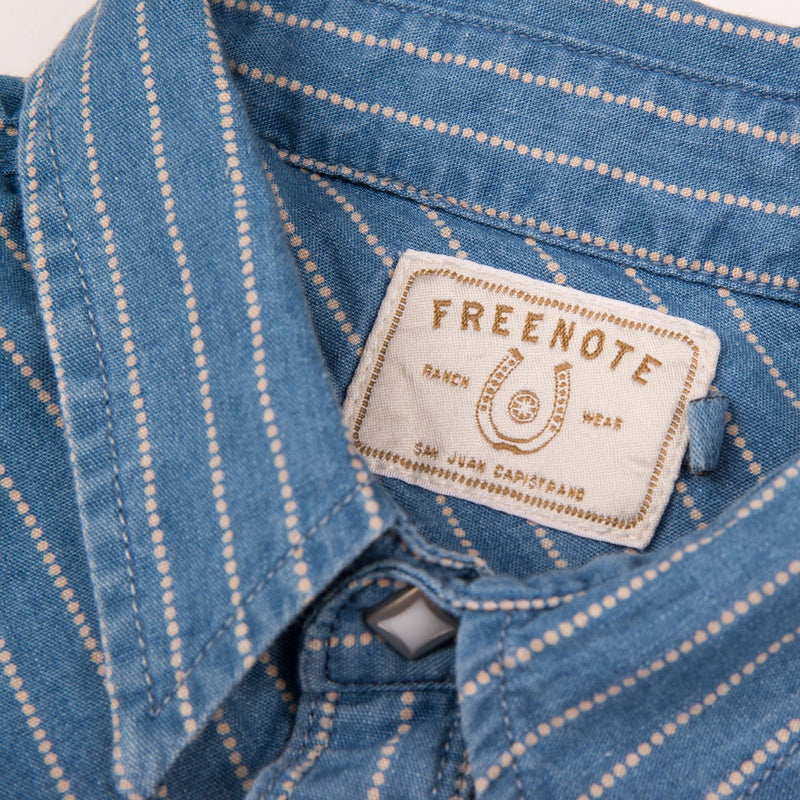 Freenote Cloth Calico- Bleached Wabash