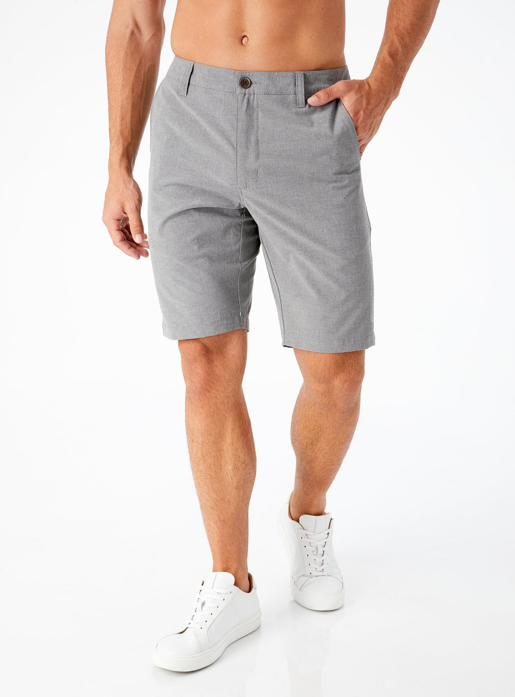 7 Diamonds- Void Hybrid Short- Charcoal