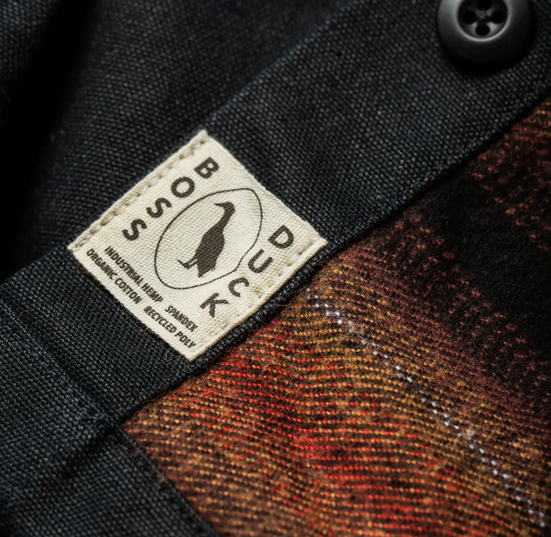 Taylor Stitch- The Lined Shop Shirt in Coal Boss Duck