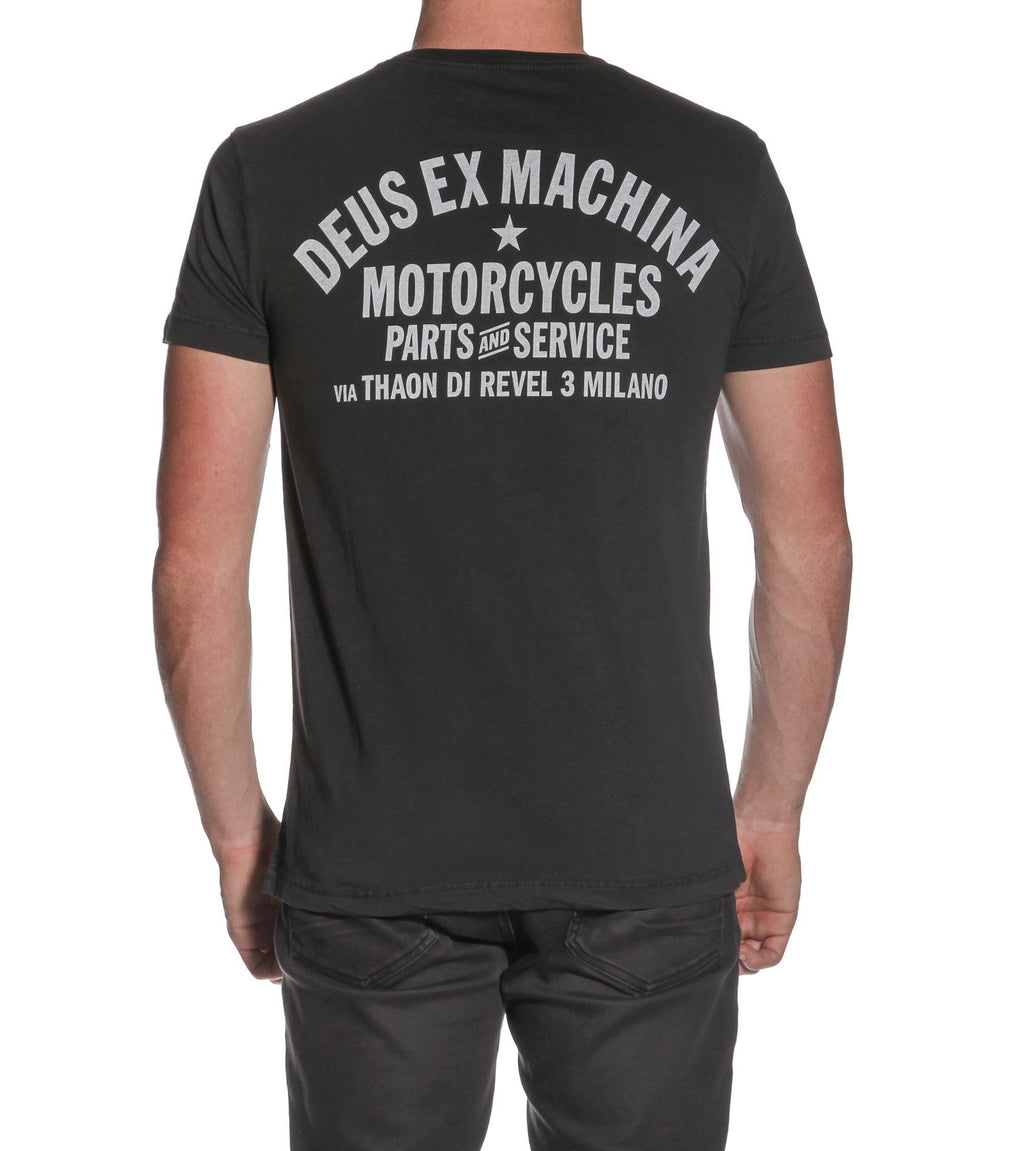Deus Ex Machina- The Lips Tee- Black