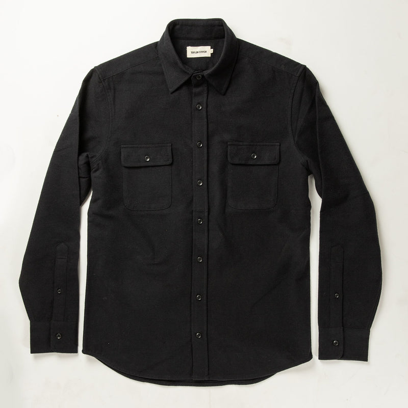 Taylor Stitch- Yosemite Shirt- Black
