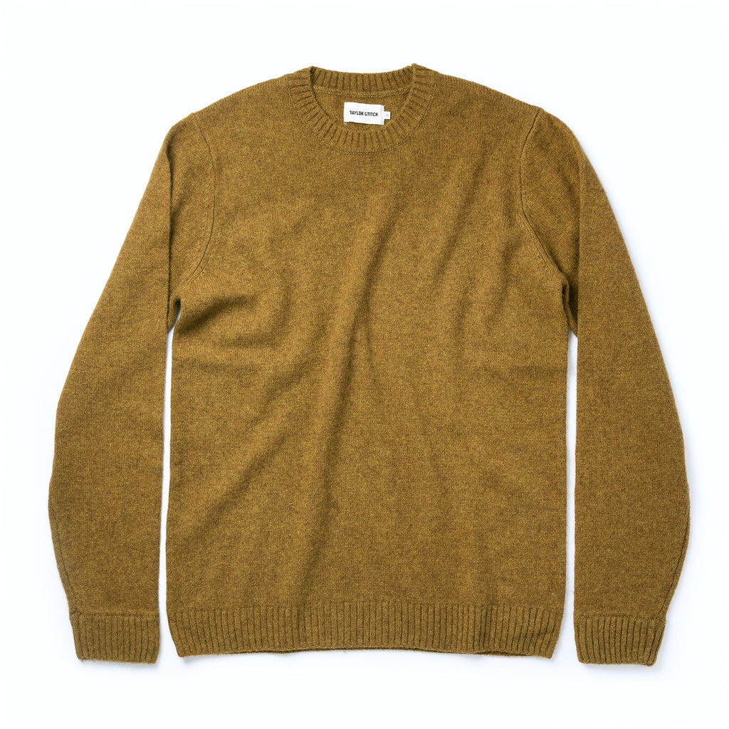 Taylor Stitch- Lodge Sweater- Ochre