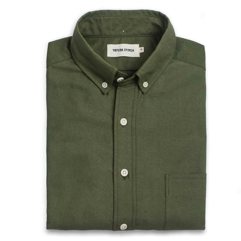 Taylor Stitch- Oxford Shirt- Army