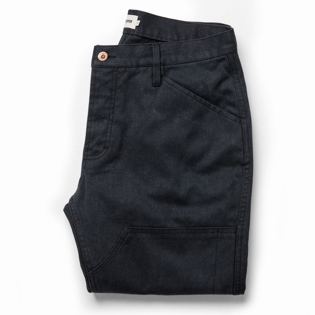 Taylor Stitch Chore Pant- Coal Boss Duck