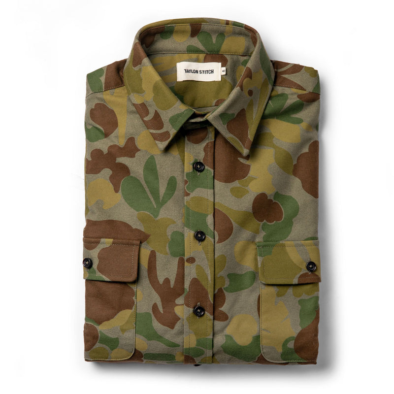 Taylor Stitch- Yosemite Shirt- Camo