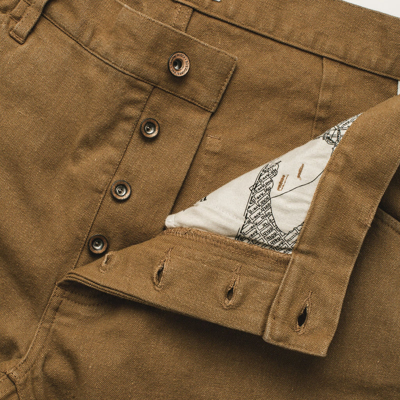 Taylor Stitch Chore Pant- British Khaki Boss Duck