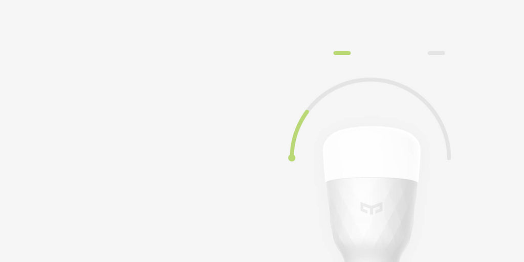 Yeelight Smart LED Bulb - Save energy and money