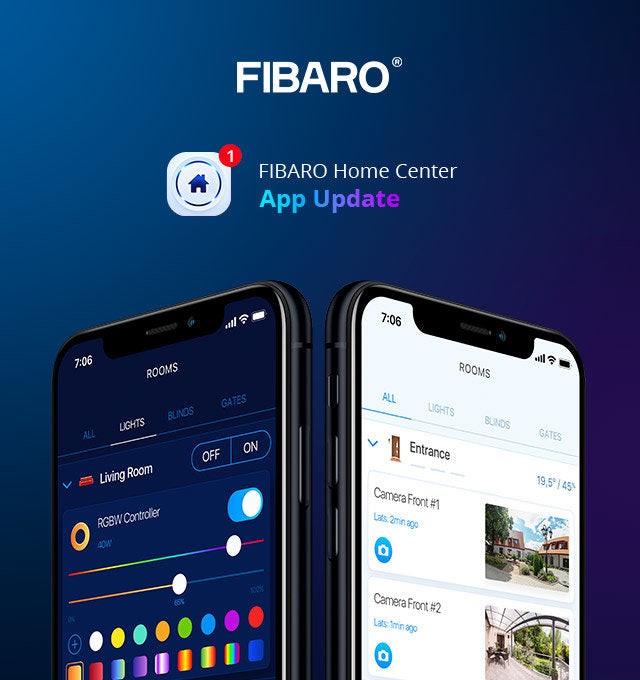 Fibaro Home Center App 1.5.0 Update