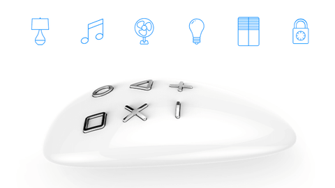 Fibaro KeyFob - One controls the whole house