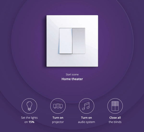 Fibaro Smart Implant - Smart switch for activating Fibaro system scenes