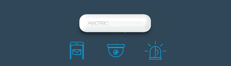 Aeotec Door / Window Sensor 7 - Alert before intruder. Protect your home. Protect who you love.