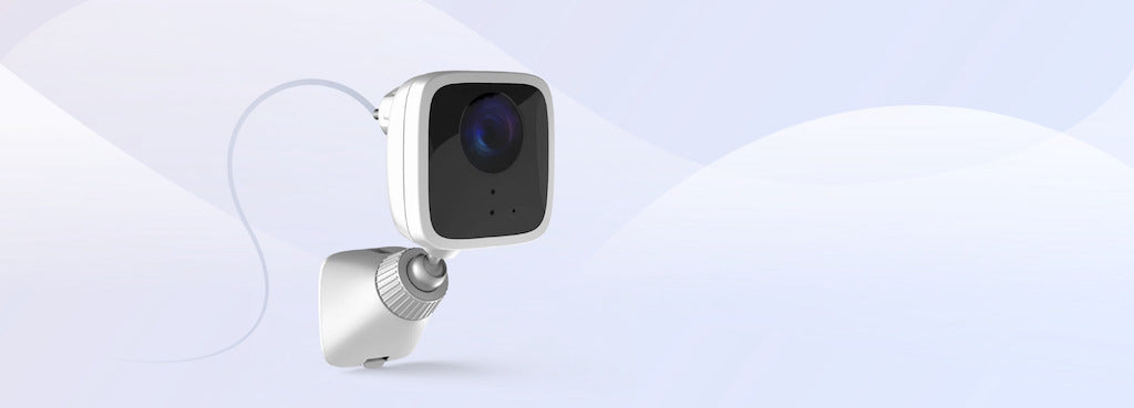 VistaCam 1101 Outdoor IP Camera - Plug and Play installation