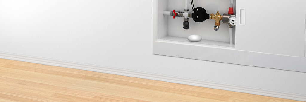Fibaro Flood Sensor - Always vigilant - below water valve