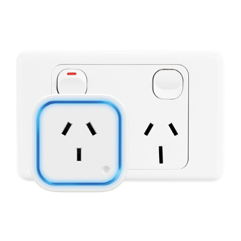 Aeotec Z-Wave Plus Smart Switch 6 - Plugged into socket