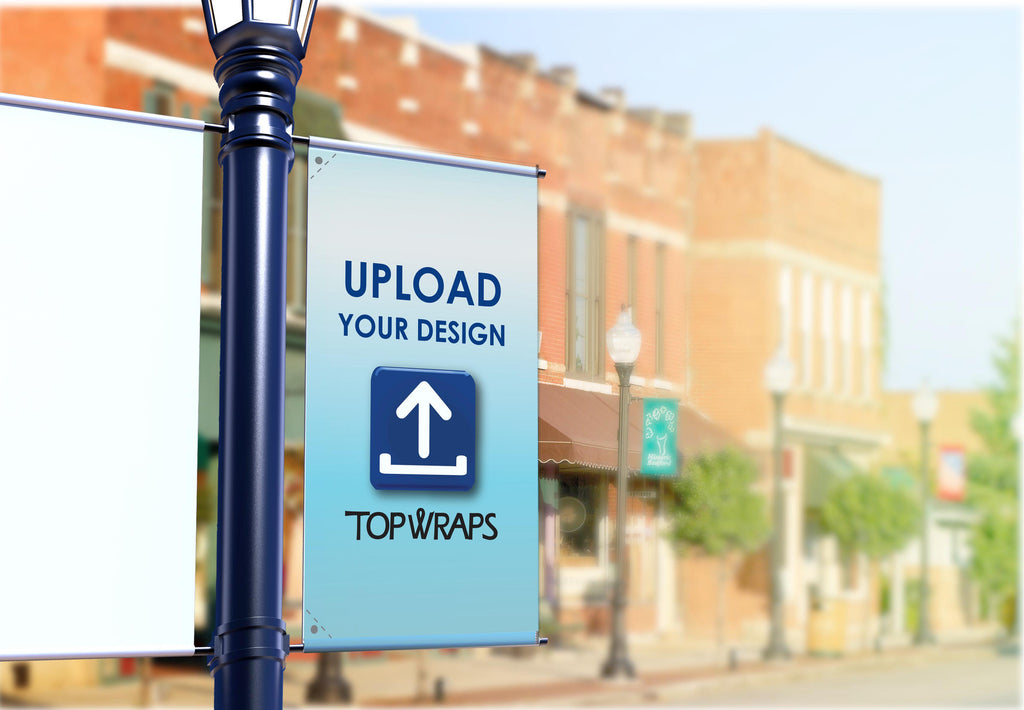 Custom Street Banners  | Open for Business