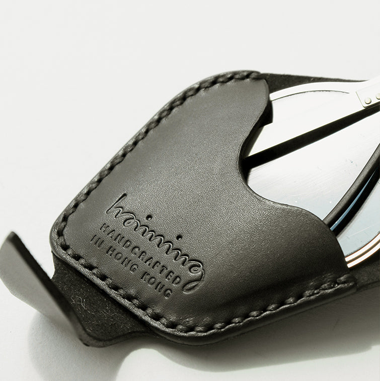Leather Sunglasses Case Designed and Handcrafted by Hoiming
