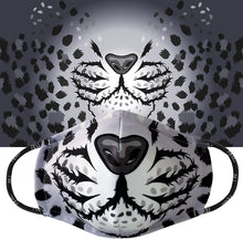 Load image into Gallery viewer, Cloud Leopard Face Mask