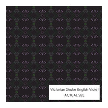 Load image into Gallery viewer, Violet Victorian Shake Face Mask